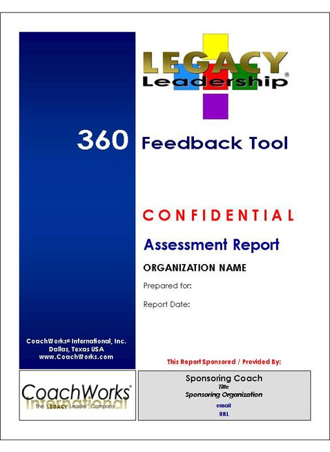 LLCI 360 Feedback Tool Online Assessment Report Cover Large Image