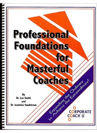 Professional Foundations for Masterful Coaches Book Medium Image