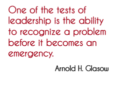Quote from Arnold H Glasow